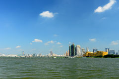 Paysage de Wuhan Photographie stock