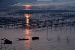 Paysage de Xiapu Images libres de droits