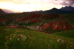 Paysage de Xining Thatcher Mountain image stock
