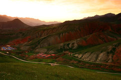 Paysage de Xining Thatcher Mountain photos stock