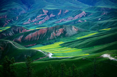 Paysage de Xining Thatcher Mountain photo libre de droits