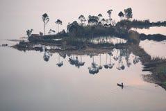 Paysage de Yunnan images libres de droits