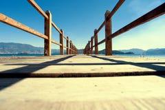 Paysage de Yunnan, Chine, lac Lugu Images libres de droits