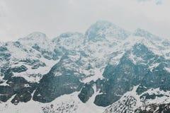 Paysage de Zakopane de montagnes de Tatry photographie stock libre de droits