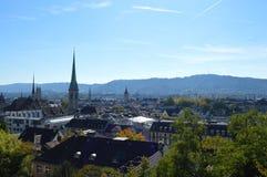 Paysage de Zurich Photographie stock