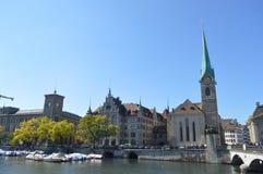 Paysage de Zurich photos libres de droits