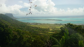 Paysage des Îles Maurice Photos stock