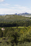Paysage des Alpes français Photos stock