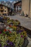 Paysage des Alpes français dans le Rhône Alpes images stock