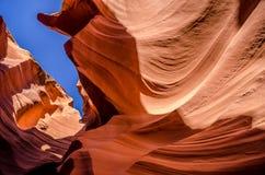 Paysage des Etats-Unis, canyon grand L'Arizona, Utah, Etats-Unis d'Amérique Image libre de droits