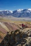 Paysage des horizons de montagne Photographie stock