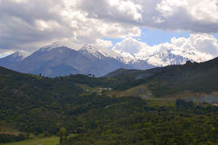 Paysage des montagnes Photo stock