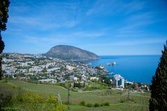 Paysage des montagnes criméennes photographie stock libre de droits