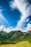 Paysage des montagnes de Retezat, Roumanie, l'Europe Photographie stock libre de droits
