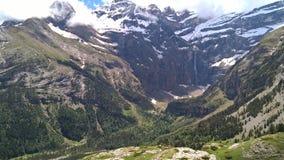 Paysage des montagnes Gavarnie photos libres de droits