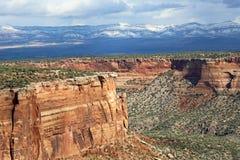 Paysage du Colorado nanomètre image libre de droits