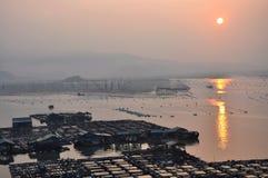 Paysage du comté de Xiapu Image stock