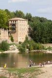 Paysage du département du Gard Photo stock