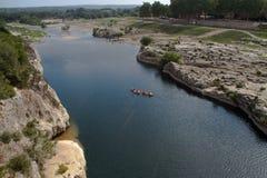 Paysage du département du Gard Images libres de droits