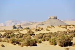 Paysage du désert occidental Sahara, Egypte image libre de droits