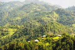 Paysage du Guatemala Photo libre de droits