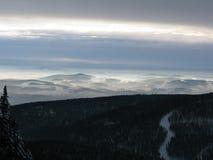 Paysage du haut de la montagne Photographie stock libre de droits