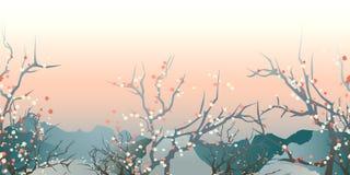 Paysage du Japon Photo libre de droits