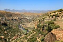 Paysage du Lesotho Image stock
