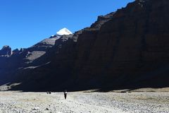 Paysage du mont Kailash images stock