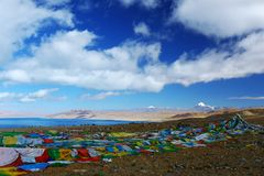 Paysage du mont Kailash photo stock