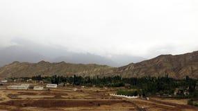Paysage du nord d'Inde Photographie stock libre de droits