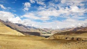 Paysage du nord d'Inde Photos libres de droits