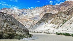 Paysage du nord d'Inde Photo libre de droits