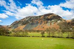 Paysage du nord de campagne du Pays de Galles Photo libre de droits