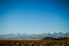 Paysage du nord du Nevada Images stock