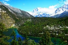 Paysage du nord du Tyrol Image stock