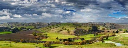 Paysage du Nouvelle-Zélande, île du nord Images libres de droits