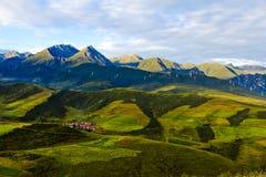 Paysage du Qinghai photo libre de droits