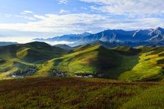 Paysage du Qinghai photographie stock libre de droits