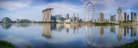 Paysage du Singapour Photo stock