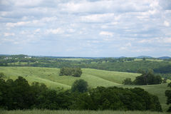 Paysage du sud du Missouri photographie stock