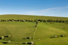 Paysage du Sussex photographie stock libre de droits
