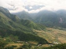 Paysage du Vietnam du nord Photos libres de droits