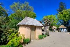 Paysage du zoo de l'Orégon, qui est situé en Washington Park, Portland photographie stock libre de droits