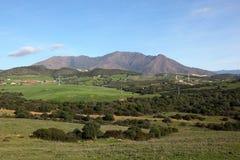 Paysage en Andalousie, Espagne photographie stock libre de droits