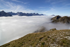 Paysage en Autriche Photos libres de droits