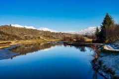 Paysage en parc national de Thingvellir en Islande photo libre de droits