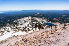 Paysage en parc national volcanique de Lassen photos stock