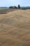 Paysage en Toscane photo stock