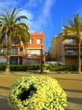 Paysage espagnol de ville Image libre de droits